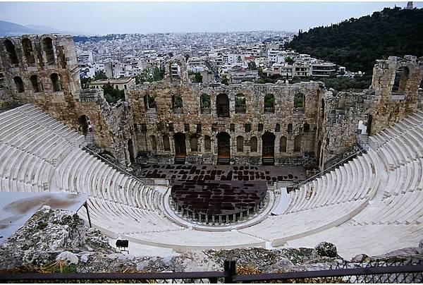 希臘 雅典 阿迪庫斯劇場遺址