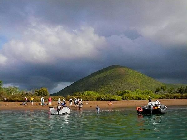 加拉巴哥群島 涉水登岸