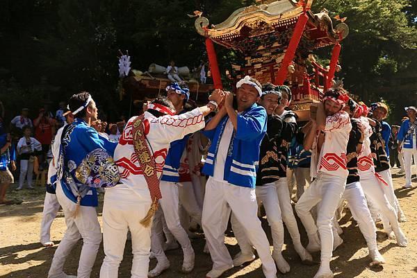 日本 大阪 科長神社祭