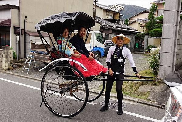 日本 京都 嵐山區 往寶筐院