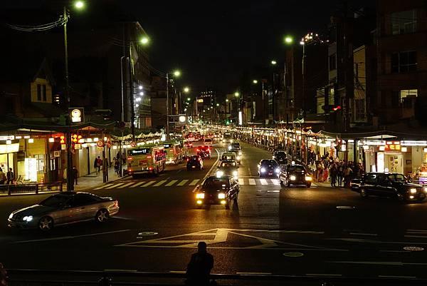 日本 京都 祇園街景