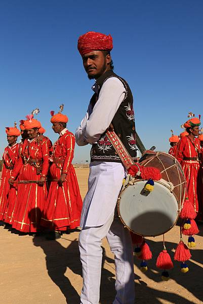 印度 拉賈斯坦 沙漠節慶
