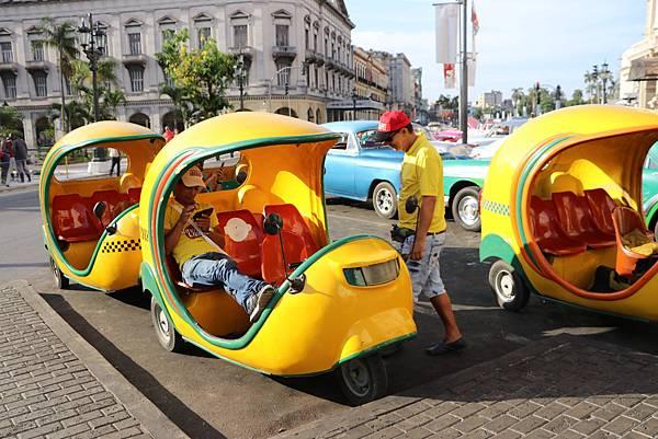 古巴椰子三輪車