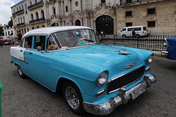 古巴老爺車