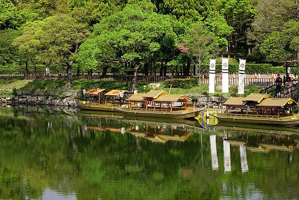 大阪城 護城河