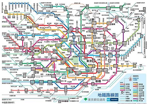 日本地鐵圖
