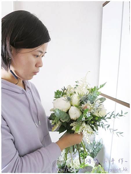 大理花結婚花球