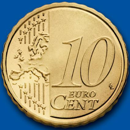 歐元10分