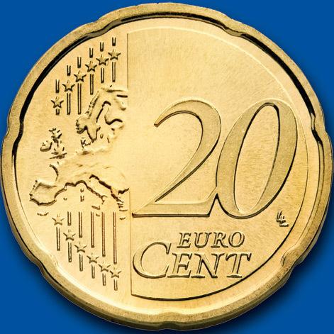 歐元20分