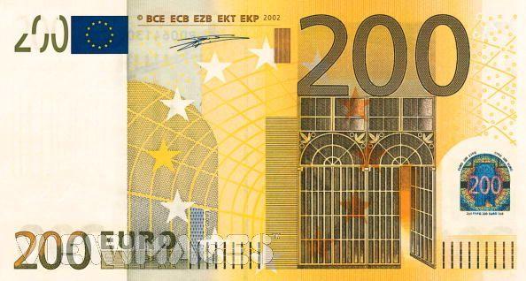 歐元200元