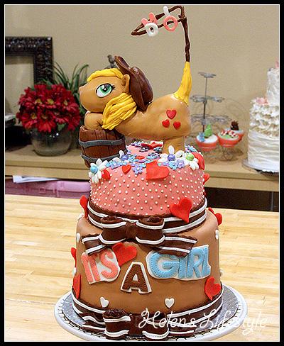 馬寶寶蛋糕