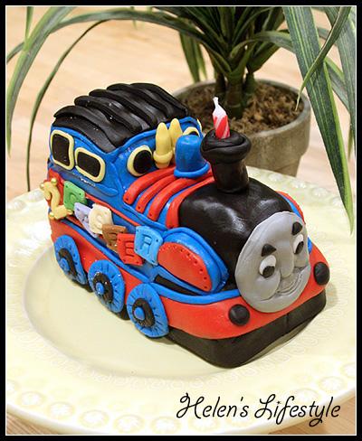 湯姆士火車裝飾