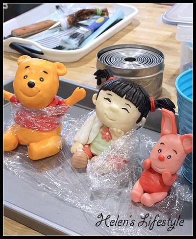 維尼熊蛋糕