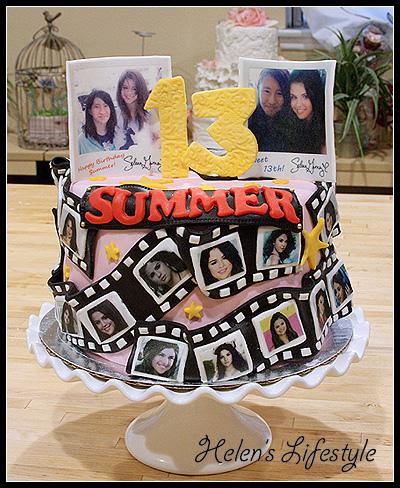 Selena Gomez Cake