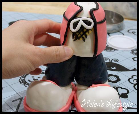 五月天成軍15周年紀念蛋糕(過程)