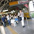 從JR新宿搭中央線到飯田橋站
