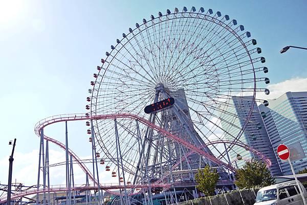 摩天輪~~到橫濱不是就要摩天輪一下嗎?