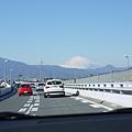 我終於看到富士山了!!!