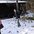 開始玩雪!!!