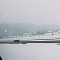 高速公路來著,已經一片白雪茫茫