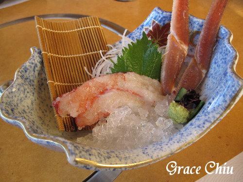 生螃蟹味美鮮甜