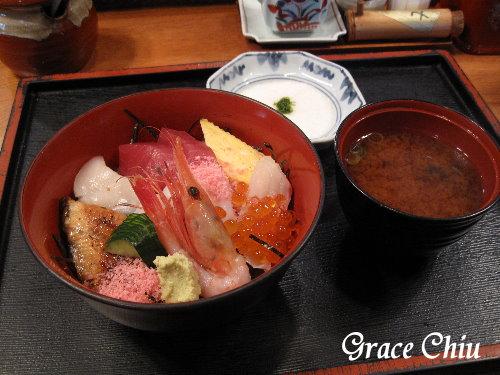傳七壽司海鮮丼餐