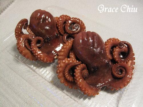 可即食的小章魚