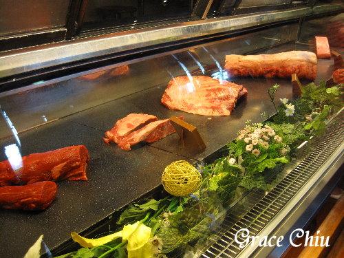 鮮切肉品櫃