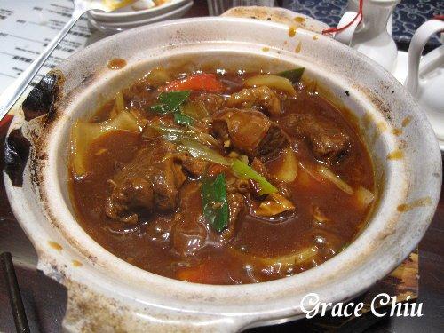 砂鍋蕃茄牛肉煲