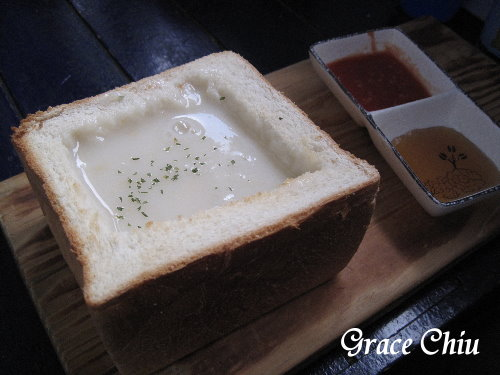 吐司磚濃湯