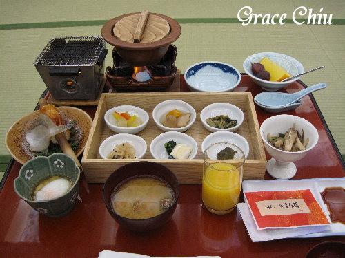加賀屋早餐會席,good!!