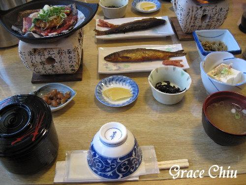 牛肉朴葉燒午餐
