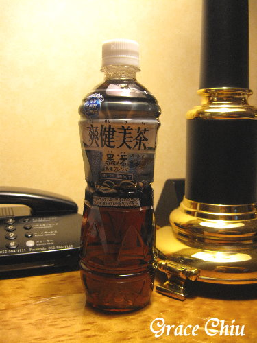 爽健美茶~台灣還沒賣的黑烏龍口味~~