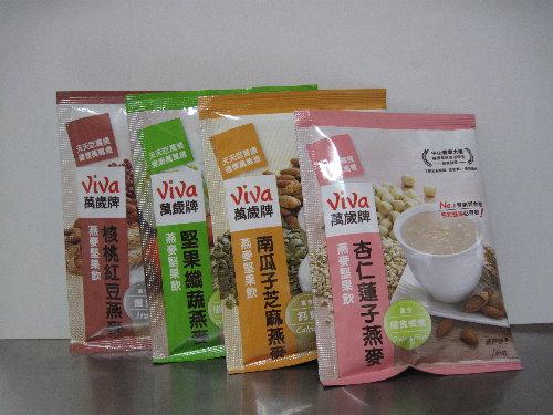 聯華食品Viva萬歲牌燕麥堅果飲