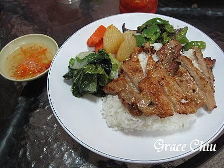 越式烤肉飯