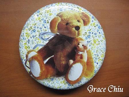 香港伴手禮 Jenny Bakery 小熊鐵盒餅乾