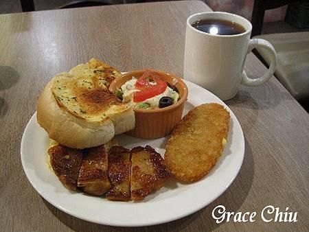 西西里雞腿早餐