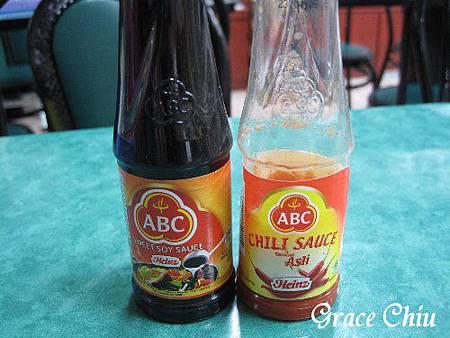 ABC辣椒醬.甜醬油
