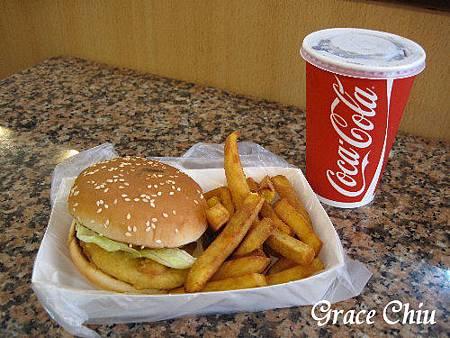 香雞城漢堡