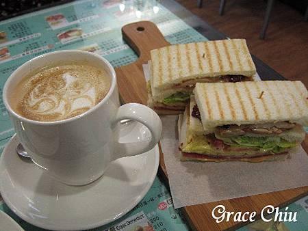 可可芭蕾~早午餐,下午茶.三明治,熱夾心.板烤總匯,燒餅.蛋捲.帕尼尼.咖啡