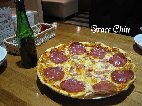 卡布里喬莎披薩