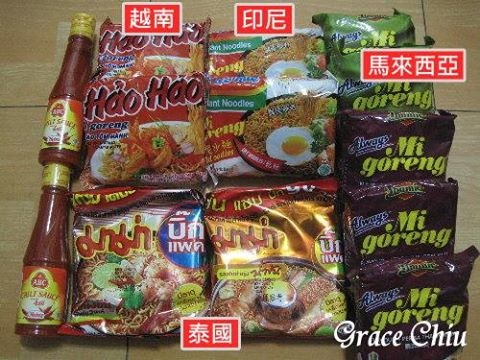 EEC買的泡麵.調味醬 印尼乾麵 泰國泡麵 馬來西亞泡麵 馬來西亞乾麵