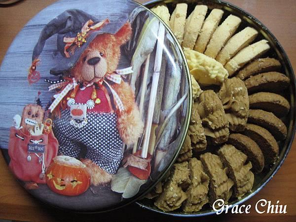 Jenny Bakery珍妮曲奇 聰明小熊餅干 香港小熊餅乾 香港伴手禮 香港名產 泰迪熊