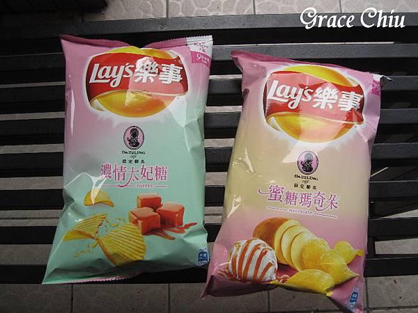 Lay%5Cs 樂事 x Dazzling cafe 聯名限定 濃情太妃糖 蜜糖瑪奇朵 香甜蜂蜜