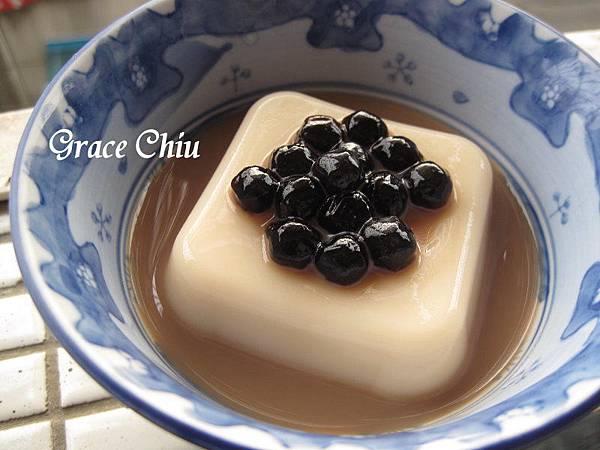 所以奶茶豆乳紅茶  巧娜娜即食珍珠 泡泡珠 中華豆花 中華花生豆花