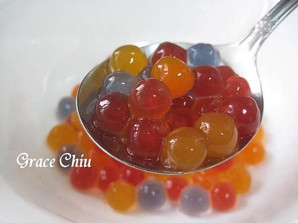 巧娜娜彩色即食珍珠 彩色泡泡珠 IQF即食彩色珍珠粉圓