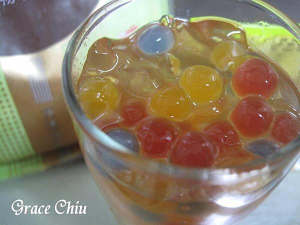 彩色珍珠 中華甜愛玉 巧娜娜即食珍珠 泡泡珠
