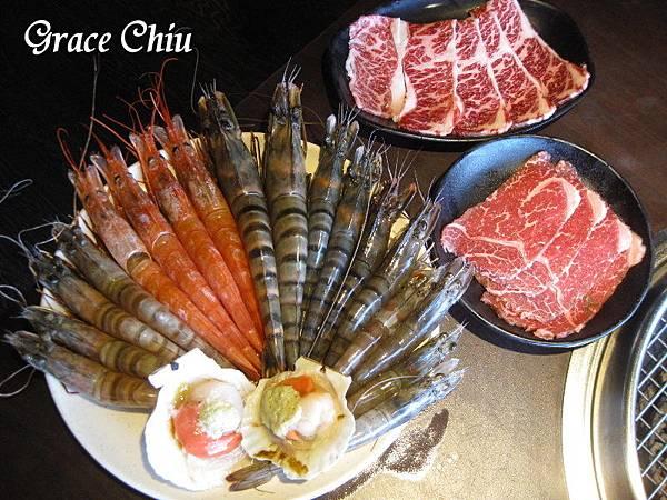 鮮蝦 烤蝦 我就厲害(西門店) 捷運西門站 捷運美食 西門町燒烤 台北好吃燒烤