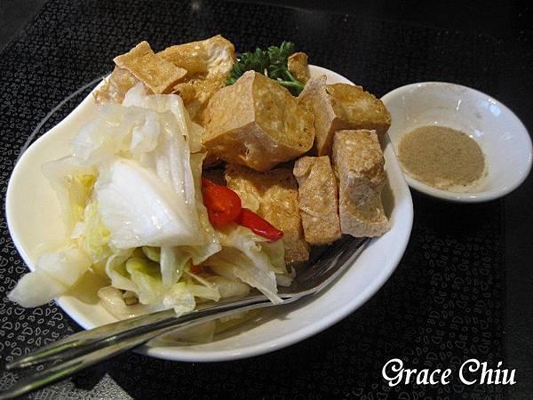 黃金炸豆腐 翰林茶館(台北微風車站店)  珍珠奶茶 泡沫紅茶 簡餐 火鍋