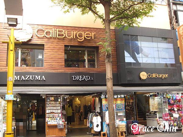 CaliBurger Caliburger 捷運西門站 西門町漢堡 梁靜茹